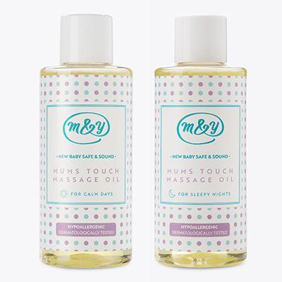 Mums Touch Massage Oils -Set of 2 Scents