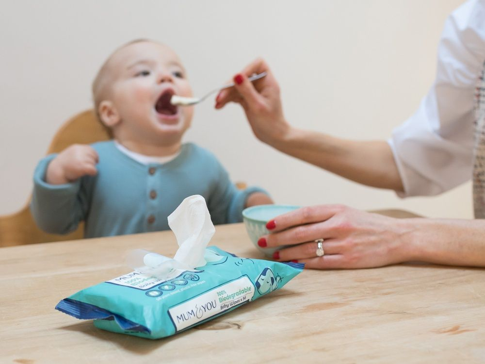 Biodegradable baby wipes subscription